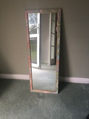 Mirror With Floral Frame