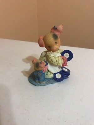 """Enesco This Little Piggy """" Dish One's For You , Mommy"""""""