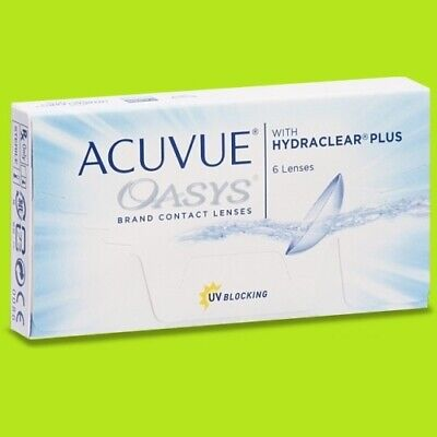 Acuvue Oasys 1х6 lenses (BC 8,4/8,8) WITHOUT CARDBOARD PACKAGING