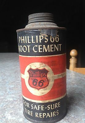 Vintage Phillips 66 Boot Cement for Tire repairs