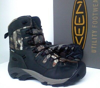 Keen Detroit Hunting/Work Boots - KEEN.DRY® Waterproof - MOINF Camo - 1015404