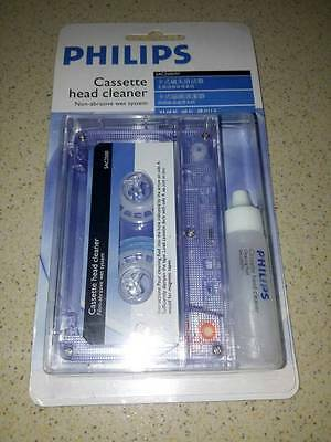 Philips Sac2500/97 Audio Head Cleaner & Non Abrasive Tape And Cleaning  (Rare)