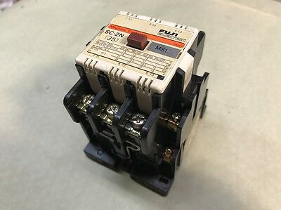 FUJI 60A Magnetic Contactor SC-2N (35) 4NC1Q0# 60 AMP 120V Coil READY TO INSTALL
