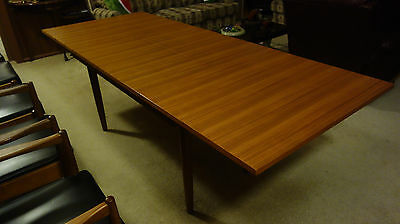 Dining Table Chiswell, 2 Leaf Extendable, And 8 Matching Chairs