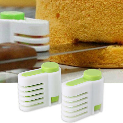 Layers DIY Cake Bread Baking Slicer Cutter Cutting Guide Lamination Tools