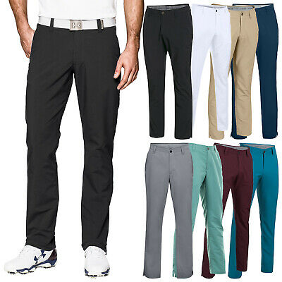 2019 Under Armour Mens Match Play Tapered Leg Trousers - Golf Performance Pants
