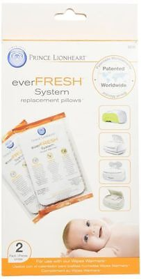 Prince Lionheart Ever-Fresh Replacement Pillows for Ultimate Wipes Warmer, New