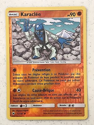 CARTE POKEMON  KARACLEE 59//98 NEUVE HOLO REV VF