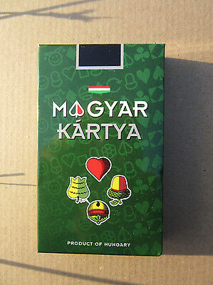 32 Hungarian Traditional Playing Cards - Free Shipping