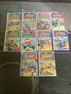 LOT Of Vintage Archie Josie And The PussyCats Comic Books