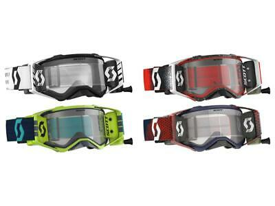 Scott USA Prospect WFS Goggle W/Roll Off Film System Anti-Stick Lens Mud MX/ATV