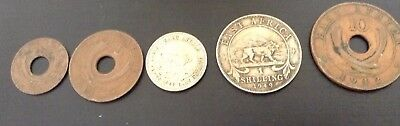 Coins east african