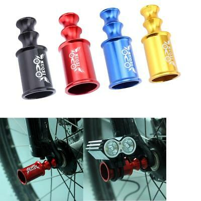 Bicycle Bike Hub Quick Release Axis Wheel Lamp Holder Rear Derailleur Protection