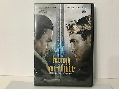 King Arthur: Legend of the Sword (DVD, 2017) Brand NEW, Action*Sealed*FREE SHIP!
