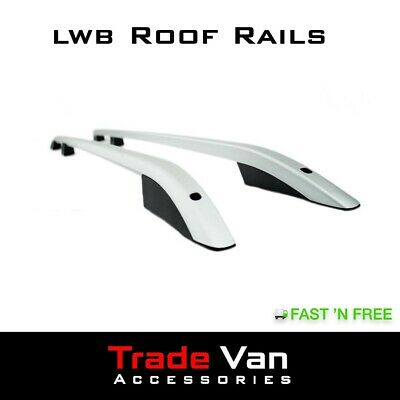 Vw T5 Transporter Roof Rails Silver Caravelle Roof Bars Rack Oem Quality Lwb