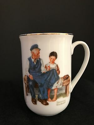 VINTAGE 1982 Norman Rockwell Museum the Lighthouse Keeper's Daughter