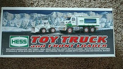2008 Hess Toy Truck and Front Loader~ Mint in the Box!