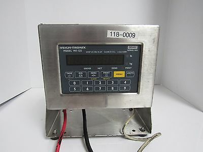 Avery Weigh-Tronix Wi-125 Led 089480 Lift Truck Scale Indicator 115Vac