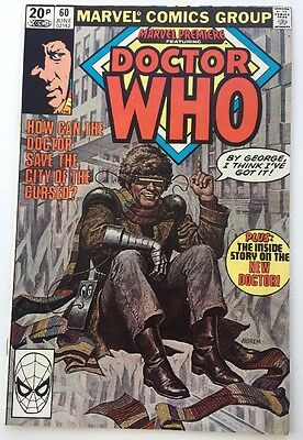 Marvel Premiere #60 June 1981 Doctor Who Comic Marvel