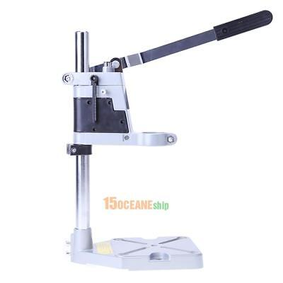 Single-head Electric Drill Press Holder Grinder Bracket Workbench Stand Clamp