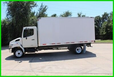 2007 Hino 165 WHITE Used box truck FULLY LOADED TO THE MAX