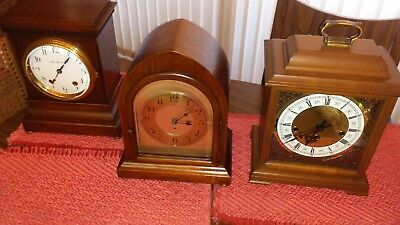 Antique Clock Collection - Seth Thomas Etc. - 3 Clocks - Mint - Must See !!!