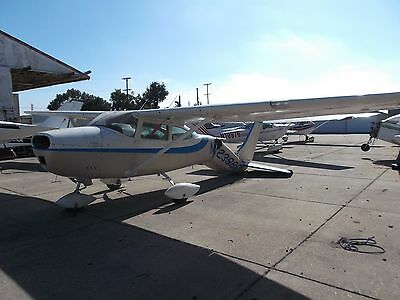 1964 Cessna 182, 3430 Tt, Tail Damage On The Ground, Very Repairable, Cheap !!
