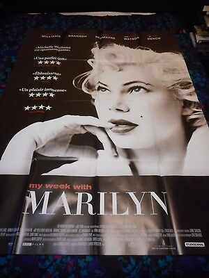 My Week With Marilyn - Original Huge French Poster - Michelle Williams