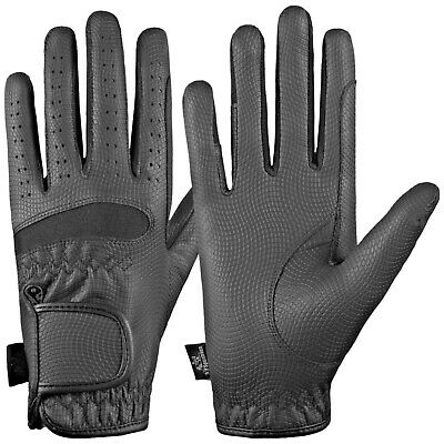 Equestrian Horse Riding Gloves LADIES Synthetic Leather Sereno High Quality