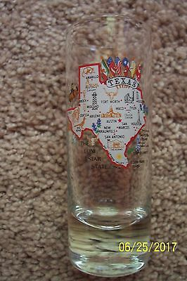Texas Souvenir Shot Glass