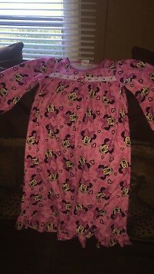 Disney Minnie Mouse Size 4t Pajama Gown