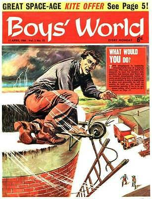 Boys World Classic Comic Book Collection  Dvd Rom Disc