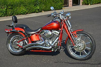 2007 Harley-Davidson Softail  2007 Canyon Copper/Candy Red Harley Screamin' Eagle CVO Softail Springer FXSTSSE