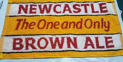 New Newcastle Brown Ale Cotton Bar Towel