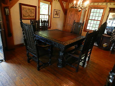 English hunting table very rare !