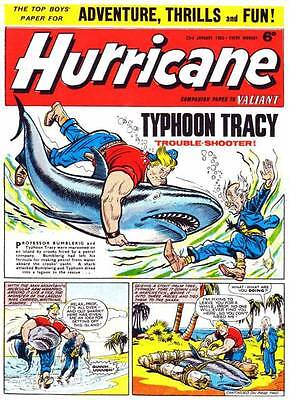 Hurricane Classic Comic Book Collection  Dvd Rom Disc