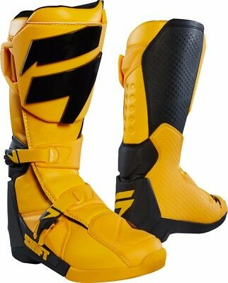 2018 Shift MX Mens Whit3 Label Boot Yellow