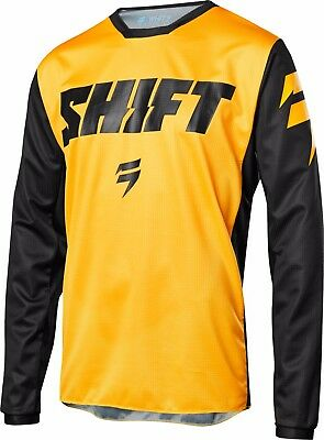 2018 Shift MX Youth Whit3 Label Ninety Seven Jersey Yellow