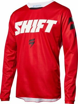 2018 Shift MX Mens Whit3 Label Ninety Seven Jersey Red