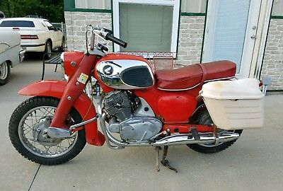 1965 Honda CL  1965 Honda 305 Dream nice low mile original