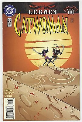 Catwoman 36! Vf+ 8.5! Cool Modern Age Dc Comic Book!