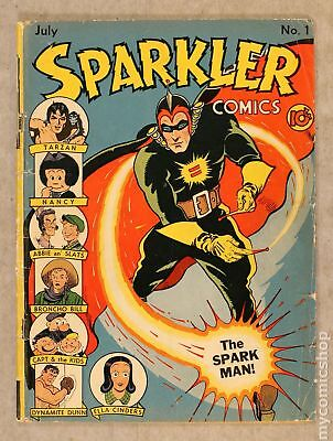 Sparkler Comics (1941 2nd Series) #1 GD+ 2.5