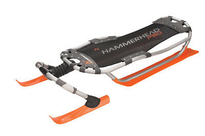 Hammerhead Pro Snow Sled, Orange - Yukon Charlie 84-0101