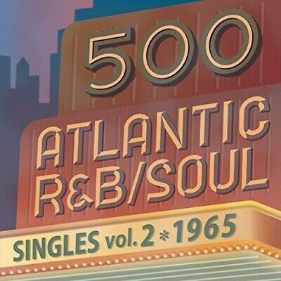 Various Artists - 500 Atlantic R&B/Soul Singles Vol.2 (1965) [New CD] Japan - Im