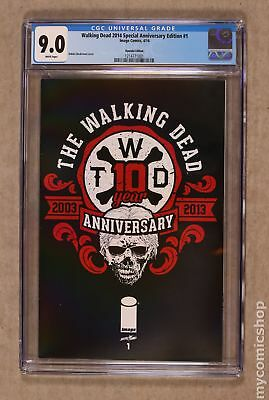 Walking Dead Special Anniversary Edition (2014) Giveaway #1HYUNDAI CGC 9.0