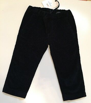 MONCLER Boys 12-18 Months Blue Navy Trousers