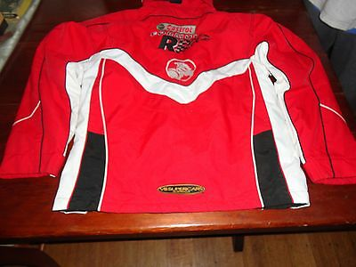 Team Perkins Castrol V8 Holden Racing Jacket Size 10