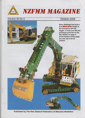 NZ Meccano clubs magazine  October 2006