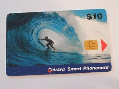 Telstra Phonecard $10 Value Surfer.