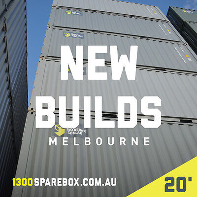20FT NEW BUILDS - QUALITY SHIPPING CONTAINERS - Melbourne